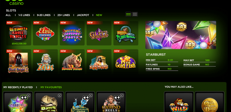 Game Account Casino Review